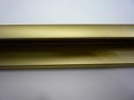 Обрамление в рамку Нильсен матовое золото