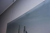 Графическое панно с потолочным подвесом