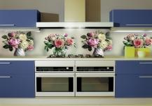Образцы дизайна кухонных фартуков