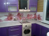 Фартук на кухню с полноцветной печатью